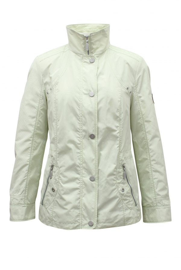 Light Green Outerwear Jacket