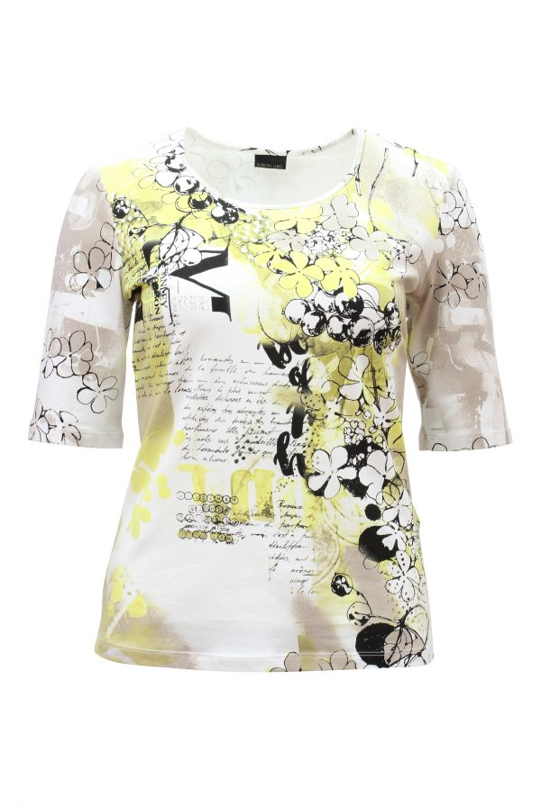 Stone & Yellow Multi T-Shirt
