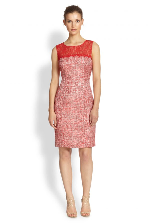Kay Unger Red Dress