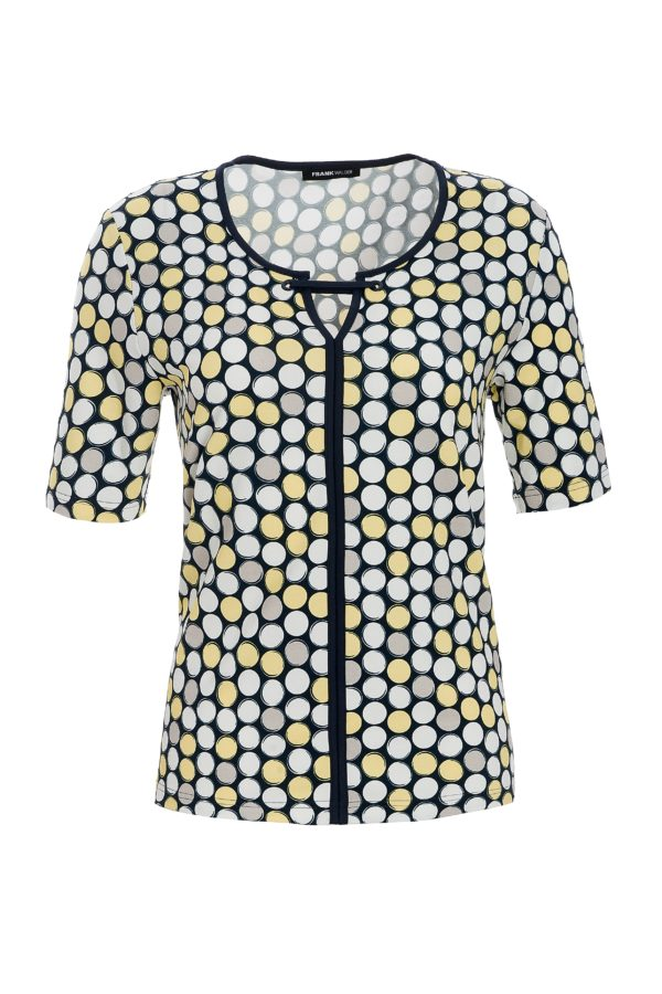 Yellow Multi Spot T-Shirt