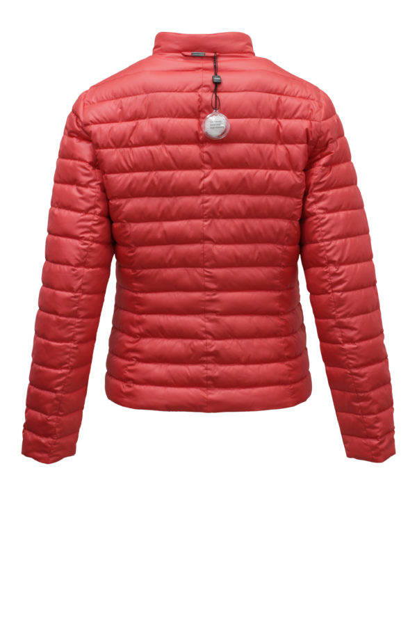 Coral Paisley Quilted Jacket